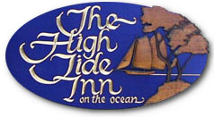 High Tide Inn Sign